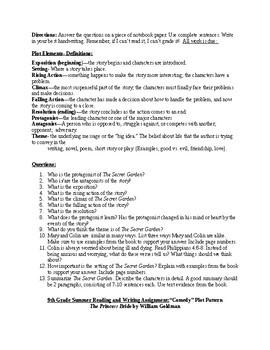 Summer Reading Program for 6-12th Grades: Designed for a Christian School