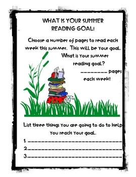 Summer Reading Program Packet