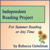 Summer Reading Project for Junior High/Middle School--Ever