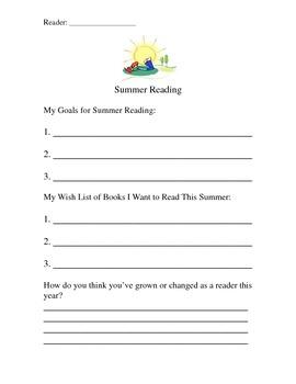 Summer Reading Reflection
