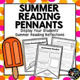 Summer Reading Reflection Pennants