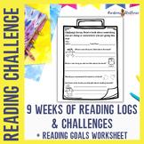 Reading Scavenger Hunt Challenge