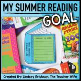 Summer Reading Goal (a Craftivity)