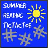 Summer Reading Tic Tac Toe