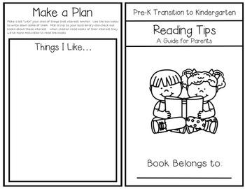 Summer Reading Tips for Parents(Pre-K to Kindergarten)
