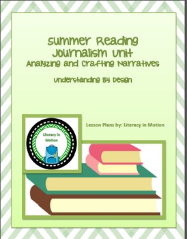Summer Reading Unit (Optimized for 8th Grade Pre-AP)