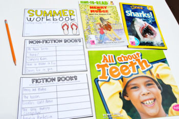 Summer Reading Workbook