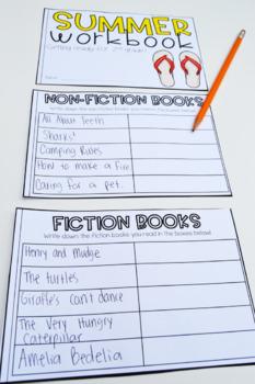 Summer Reading Workbook