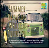 Summer Reading & Writing Journal | Distance Learning