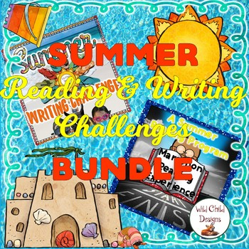 Summer Reading & Writing Summer Challenges Bundle