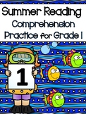 Summer Reading and Comprehension Packet for 1st Graders go
