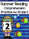 Summer Reading and Comprehension Packet for 2nd Graders go