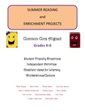 Summer Reading and Enrichment Projects