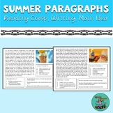 Summer Reading: comprehension, introduction, conclusion, main idea, speech