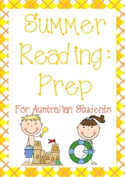 Summer Reading for Australian Prep Students