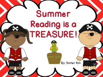 Summer Reading is a Treasure!