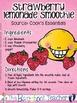 Summer Recipe Book Sample