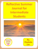 Summer Reflection Journal for Intermediate Students