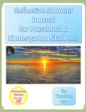 Summer Reflection Journal for Preschool and Kindergarten Students
