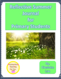 Summer Reflection Journal for Primary Students