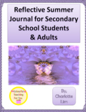 Summer Reflection Journal for Secondary School Students an