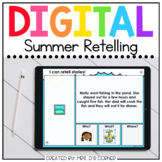 Summer Retelling Digital Activity | Distance Learning