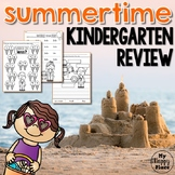 Kindergarten Summer Review Printables