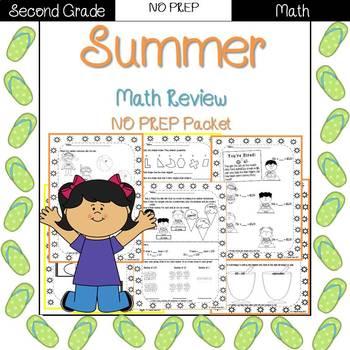 Summer Worksheets For Second Grade | Teachers Pay Teachers