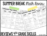 Summer Review {4th Grade Math}