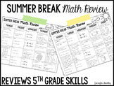 Summer Review {5th Grade Math}