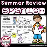 Summer Review Activities in SPANISH (2nd and 3rd grade)