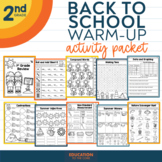 Summer Packet NO PREP Review for 1st Grade | End of the Year Activities