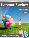Summer Review Book - Math & ELA