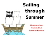 Summer Review Calendar- Kindergarten