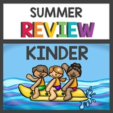 Kindergarten Summer Review Packet