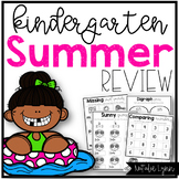 Kindergarten Summer Review | Summer Review Packet for Kindergarten
