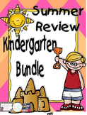 Summer Review Kindergarten Bundle