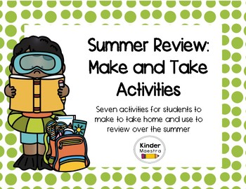 Summer Review: Make and Take Activities