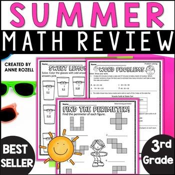 Grade 3 Summer Math Review