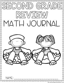 Summer Review Math Journal (2nd Grade)
