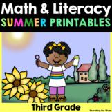 Summer Review Math & Literacy {Third Grade}