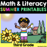 Summer Math & Literacy Printables {3rd Grade}