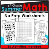 6th Grade Summer Packet
