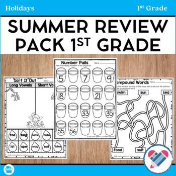 Summer Review Pack 1st Grade