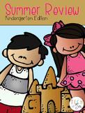 Summer Review Pack for Kindergarten Students