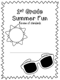 Summer Review Packet 1st Grade