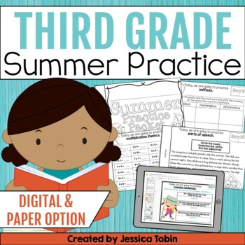 Summer Packet: 3rd Grade Summer Review Packet