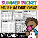Summer Packet Fifth Grade