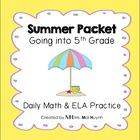 Summer Packet - Going into 5th Grade