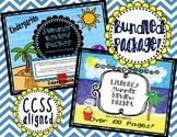 Summer Review Packet {Kindergarten Math & Literacy}